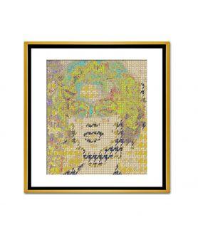 Obraz na płótnie Obraz glamour Portret kobiety glamour, grafika glamour