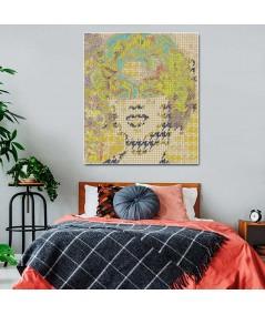 Dekoracja na ścianę Portret kobiety glamour