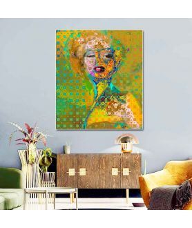 Obraz plakat współczesny Marilyn Monroe deco 2