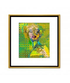 Obraz na płótnie Obraz loftowy Marilyn Monroe deco (1-częściowy) pionowy