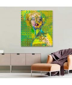 Obraz na płótnie Obrazy loftowe Marilyn Monroe deco, grafika nowoczesna