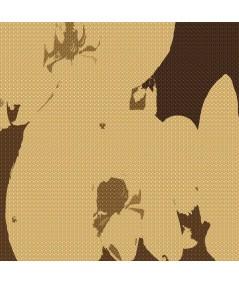 Obraz na płótnie Tryptyk Minimalizm storczyka