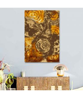 Obraz na płótnie Obraz na ścianę Kawa i miód (1-częściowy) szeroki