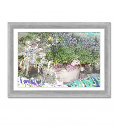 Obraz na płótnie Lawenda i zioła (1-częściowy) szeroki