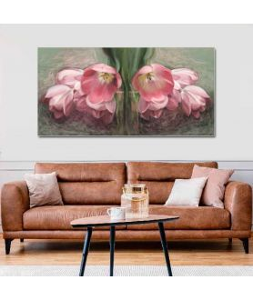 Obrazy plakaty na ścianę Obraz Tulipany czerwone