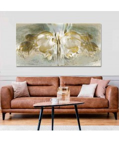 Obraz na płótnie Obraz do sypialni Tulipany panorama