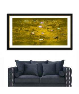 Obraz na płótnie Obraz Księżyc i lilie