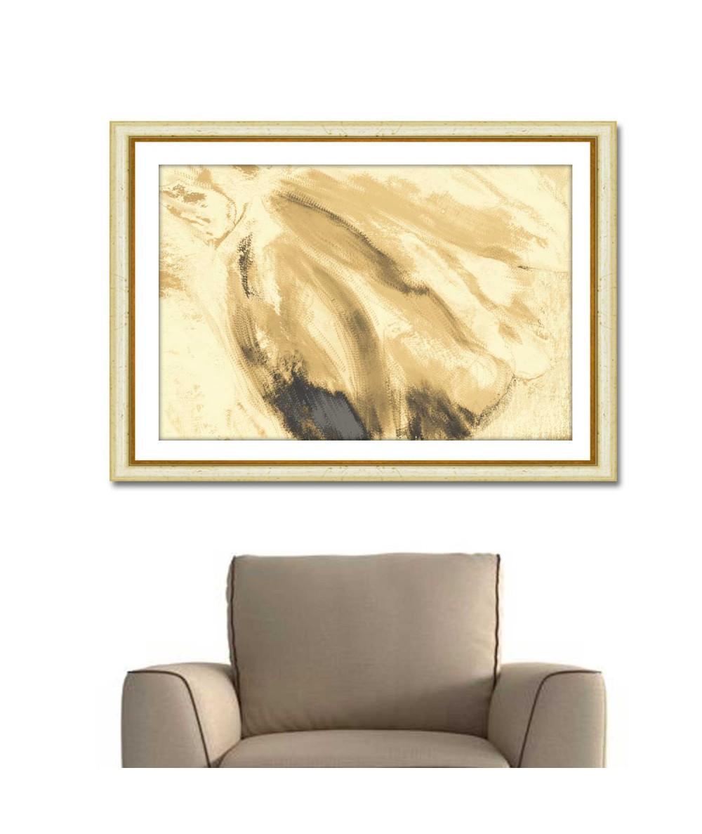 Obrazy plakaty na ścianę Obraz na ścianę do salonu Jasny tulipan