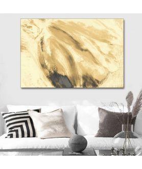 Obraz na płótnie Obraz na ścianę do salonu Jasny tulipan