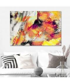 Obraz na płótnie Abstrakcja Ogień i ziemia
