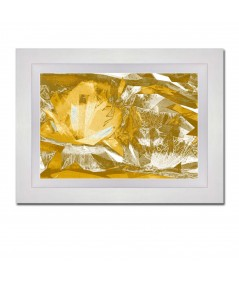 Obraz na płótnie Obraz kwiaty Złociste lilie
