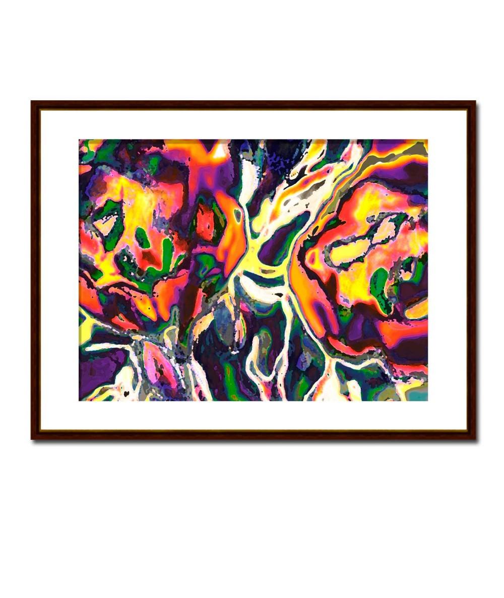 Obraz na ścianę nowoczesny Folkowe kwiaty