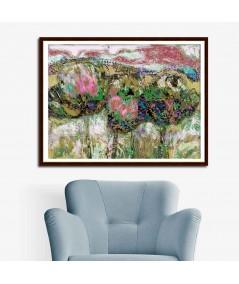 obrazy kwiaty Obraz Polne kwiaty (1-częściowy) szeroki