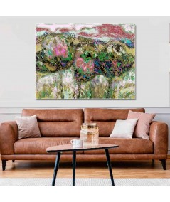 Obraz na płótnie Obraz Kwiaty polne (1-częściowy) szeroki
