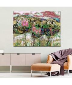 Obraz na płótnie Obraz Kwiaty polne