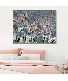 Obraz na płótnie Obraz krajobraz Romantyczna noc (1-częściowy) szeroki