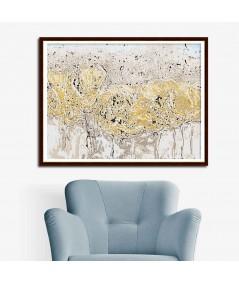 Obraz na płótnie Obraz kwiaty polne Wiosenna abstrakcja