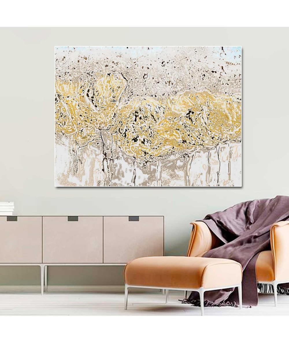 Obraz plakat nowoczesny Wiosenna abstrakcja