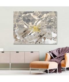 Obraz plakat nowoczesny Abstrakcyjny obraz Akwarela kwiaty