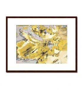 Obraz na płótnie Abstrakcja Mapa uczuć