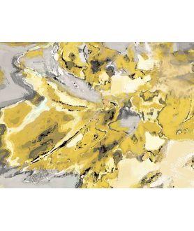 Obraz na płótnie Abstrakcja obraz Mapa uczuć (1-częściowy) szeroki