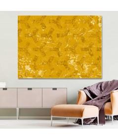Obraz na płótnie Abstrakcja Złote sześciokąty