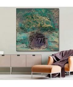 Obrazy plakaty na ścianę Obraz kwiaty w wazonie Wazon fioletowy