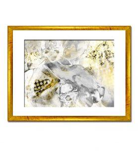 Obraz na płótnie Obraz szary Błyszcząca abstrakcja