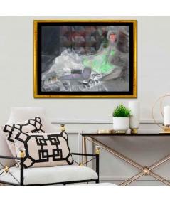 Obraz na płótnie Obraz akt leżący Namiętność, obrazy nad łóżko