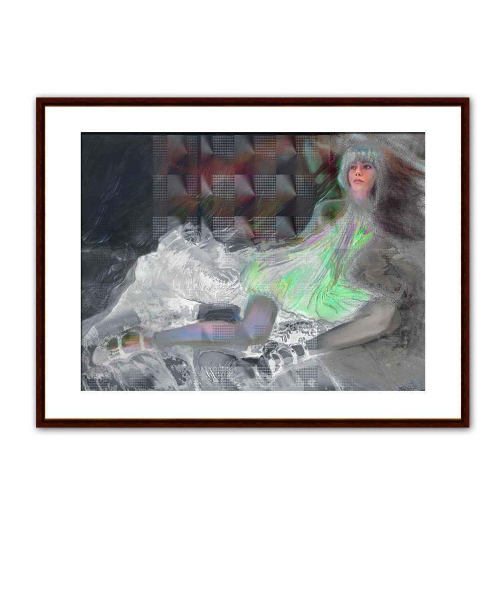 Obraz akt leżący Namiętność, obrazy nad łóżko