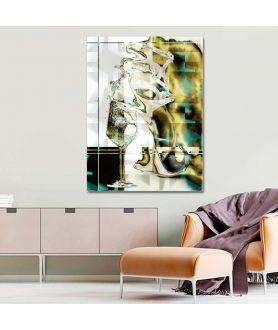 Obraz nowoczesny Wino i kobiety (1-częściowy) pionowy