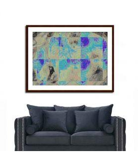 Obraz plakat nowoczesny Abstrakcja geometryczna