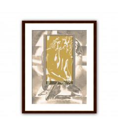Obraz na płótnie Obraz akt Złote okno uczuć, nowoczesne grafiki