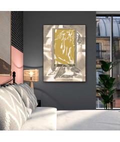 Obrazy akty - Obraz Złote okno uczuć (1-częściowy) pionowy