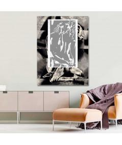Obraz na płótnie Akt obraz grafika Okno uczuć (1-częściowy) pionowy