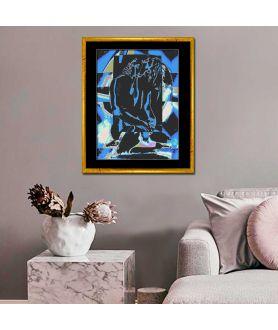 Obraz na płótnie Grafika akt Niebo uczuć, styl nowoczesny