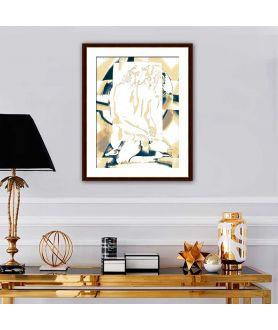 Obraz na płótnie Nowoczesny akt Światło uczuć, nowoczesne grafiki do sypialni