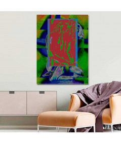 Obraz na płótnie Piękny akt obraz Kolor uczuć, obraz abstrakcyjny