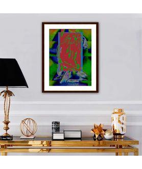 Obrazy akty - Piękny akt obraz Kolor uczuć (1-częściowy) pionowy