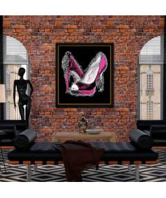 Współczesny obraz plakat Luksusowa kobieta