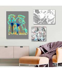 Współczesny obraz plakat Szpilki Jimmy art