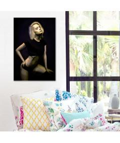 Obraz plakat na ścianę Obrazy postaci Młoda kobieta