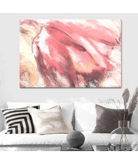 Obraz na płótnie Obrazy z kwiatami nowoczesne Abstrakcja tulipan