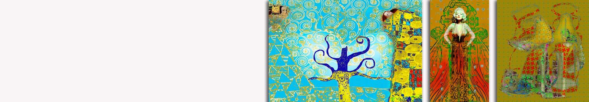 Obrazy w stylu art deco - obrazy dekoracyjne GRAFIKIOBRAZY.PL