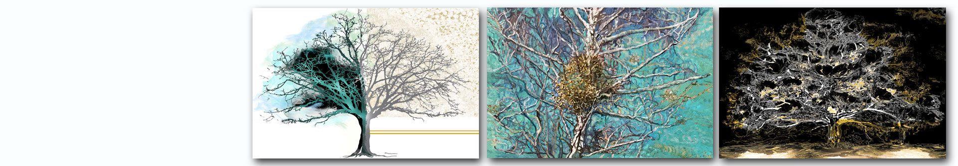 Obrazy drzewo, na płótnie autorskie - grafikiobrazy.pl
