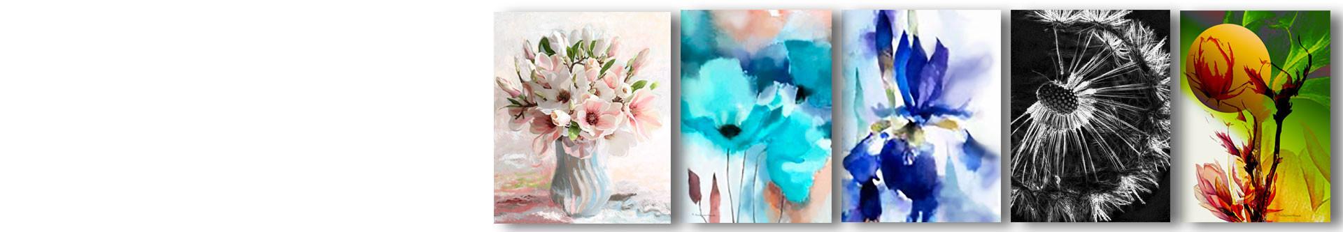 Obrazy Kwiaty i grafiki na ścianę z kwiatami - GRAFIKIOBRAZY.PL