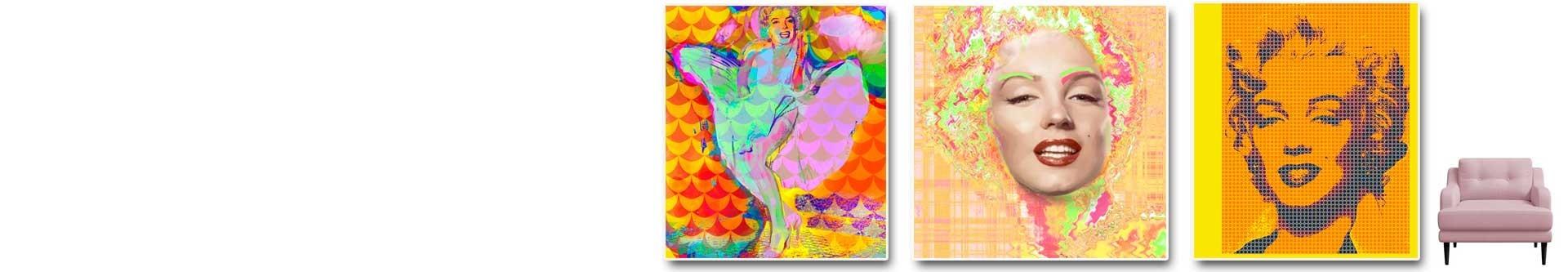Marilyn Monroe obrazy plakaty grafiki GRAFIKIOBRAZY.PL