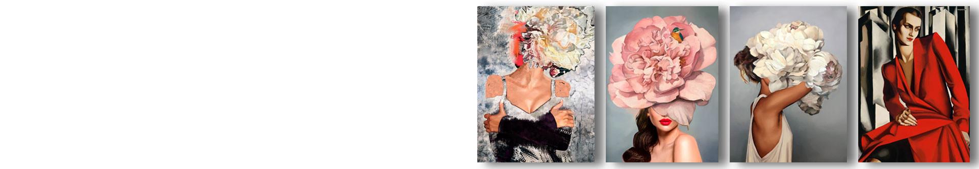Obraz kobieta • zobacz obrazy na ścianę nowoczesne • GRAFIKIOBRAZY.PL