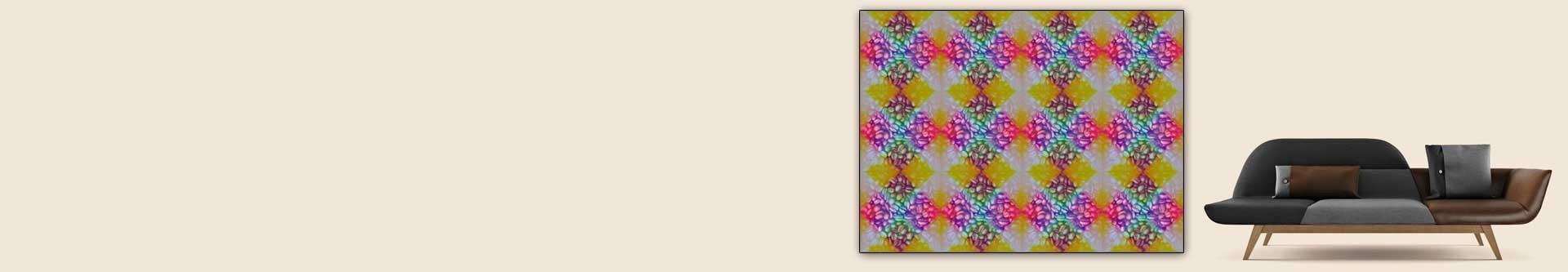 Obrazy kawa i plakaty - wzory geometryczne lub z filiżanką kawy • grafikiobrazy.pl