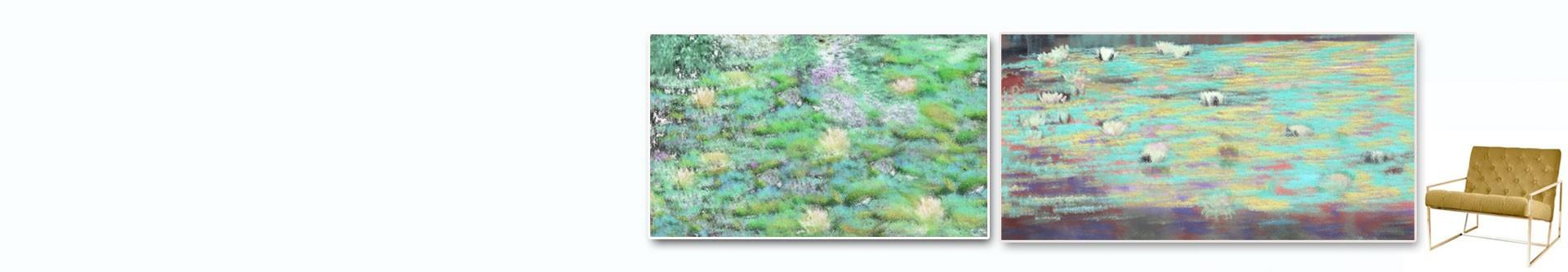 Lilie wodne obrazy • nowoczesne obrazy w grafikiobrazy.pl